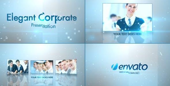 Videohive Simple Stylish Presentation 4012971