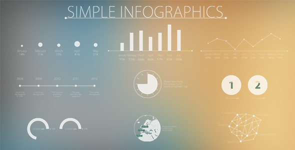 Videohive Simple and Modern Infographics