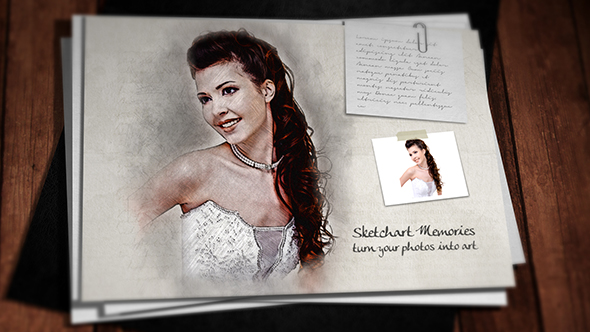Videohive Sketch Art Memories 18374504