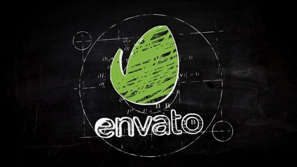 Videohive Sketch Logo Reveal 14040935