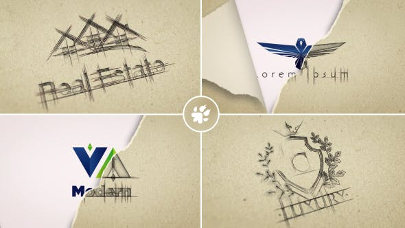 Videohive Sketch Logo Reveal 18705290