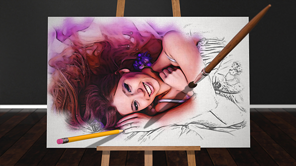 Videohive Sketch and Paint 16224005