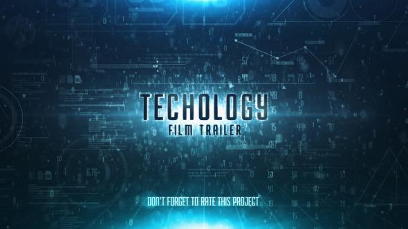 Videohive Sky Technology Film Trailer 11793815