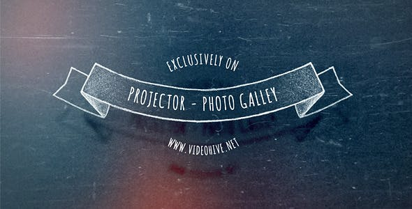 Videohive Slide Projector - Photo Gallery 8933575