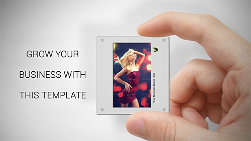 Videohive Slides in Hand 6733465