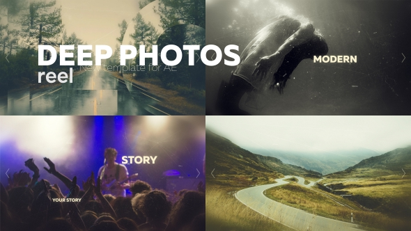 Videohive Slideshow Reel 16173097