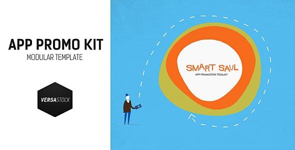 Videohive Smart Saul App Promo Kit 11409483