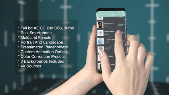 Videohive Smartphone App Promo 21190800