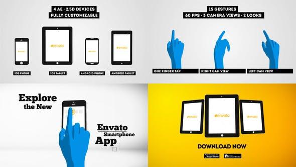 Videohive Smartphone Tablet - Promo Kit 5573326
