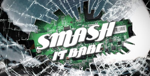Videohive Smashing Logo or Title Reveal - Realistic 3D 319714