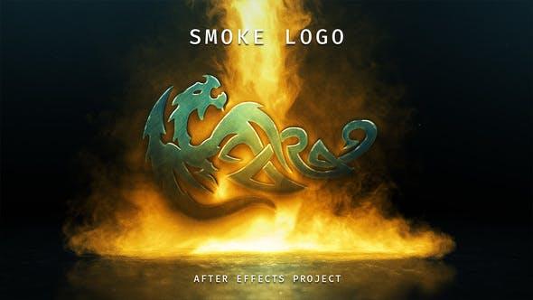 Videohive Smoke Logo 21915684