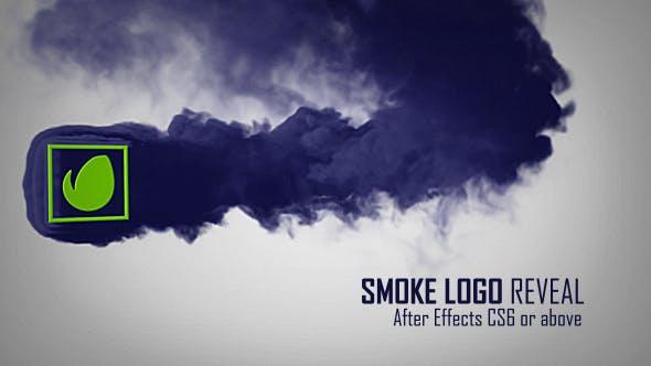 Videohive Smoke Logo Reveal 15285823