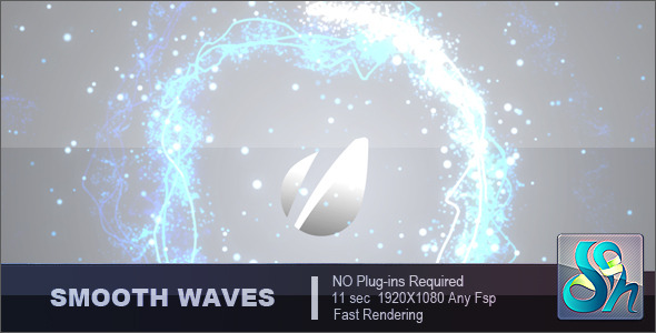 Videohive Smooth Waves Logo 3210612
