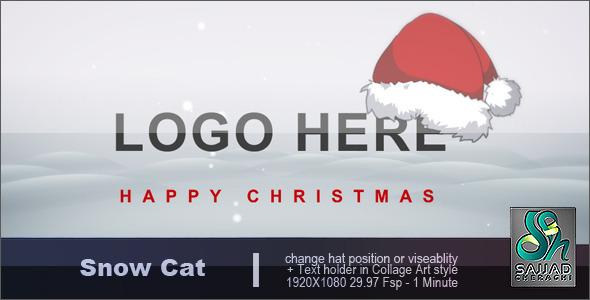 Videohive Snow Cat 995695