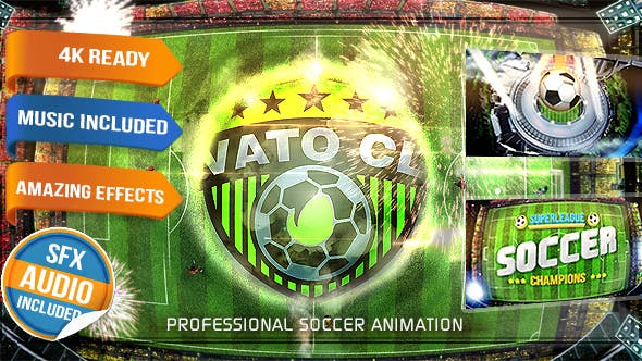 Videohive Soccer Logo - Football Intro 15993628