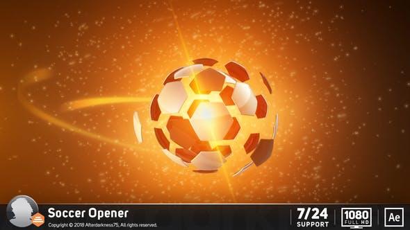 Videohive Soccer Opener intro 158748