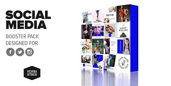 Videohive Social Media Booster Pack 20618119