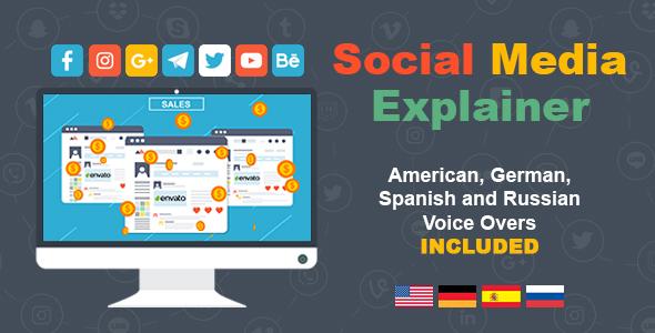 Videohive Social Media Explainer 19551859