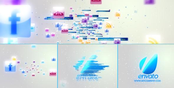Videohive Social Media Logo 3094116