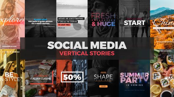 Videohive Social Media Vertical Stories 21846836