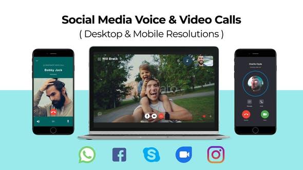 Videohive Social Media Voice Video Calls 24783655