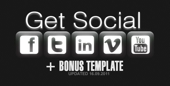 Videohive Social Profile V2 527390