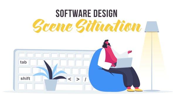 Videohive Software design - Scene Situation 27642856