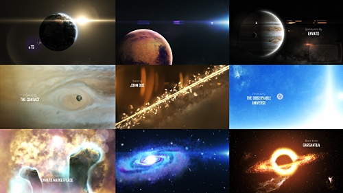 Videohive Solar System 3 - The Observable Universe - 8K 16139499