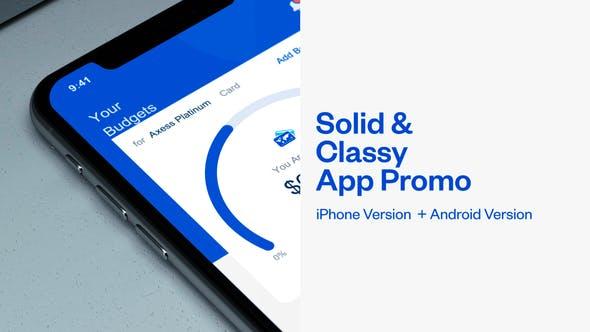 Videohive Solid App Promo 27517537