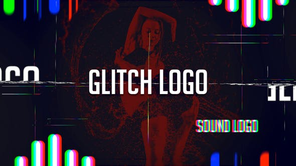 Videohive Sound Glitch - Logo Reveal 12391406