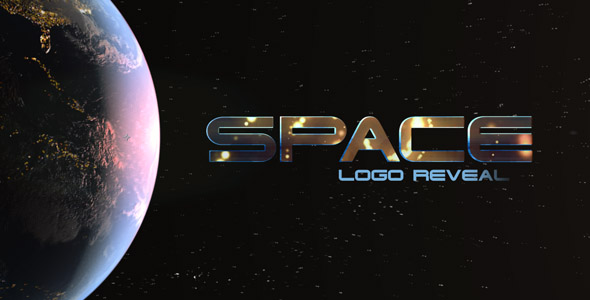 Videohive Space Logo Reveal 14951556