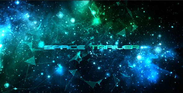 Videohive Space Trailer 13938286