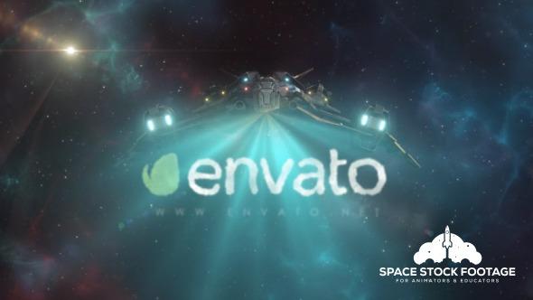 Videohive Spaceship Logo Reveal 2 12537375