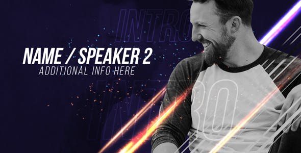 Videohive Speakers Intro 20214300