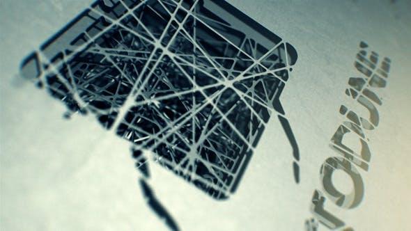 Videohive Spiderweb Logo Reveal 4047509