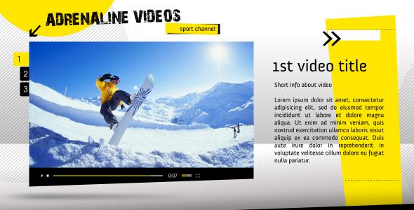 Videohive Sport Channel 3102142