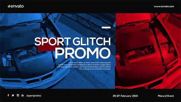 Videohive Sport Glitch Promo 14281104