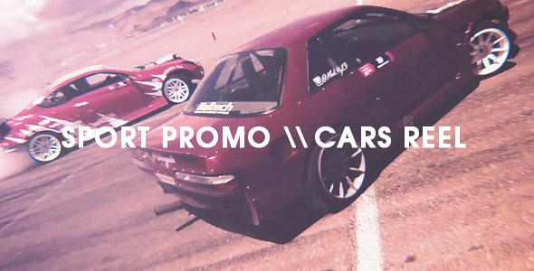 Videohive Sport Promo - Cars Reel 19223363