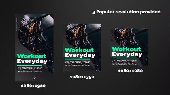 Videohive Sports Instagram Stories 23100349