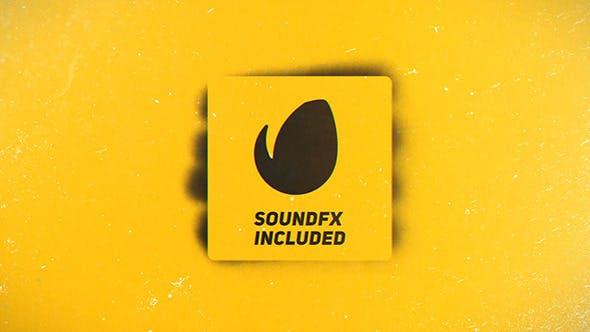 Videohive Spray Paint Logo Reveal 12790467
