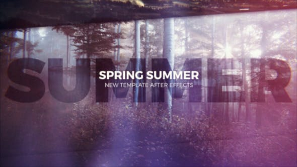 Videohive Spring Summer 13278216