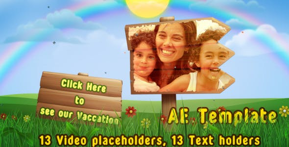 Videohive Spring Summer Slide Show 2725828