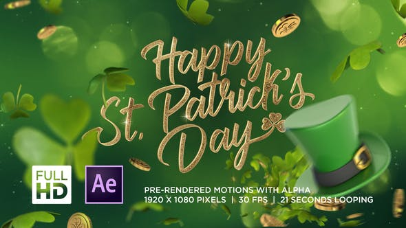 Videohive St Patricks Day Greeting 25870659