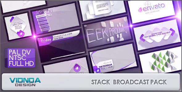 Videohive Stack Broadcast Package 7606181