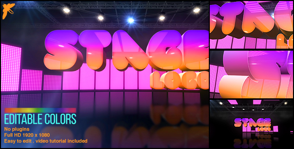 Videohive Stage Logo 17425423