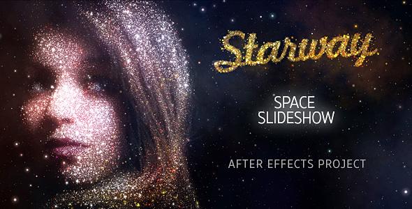 Videohive StarWay Space Slideshow 19792184