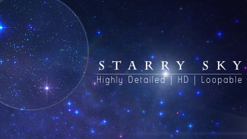 Videohive Starry Sky 97690