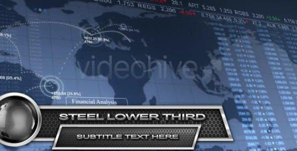 Videohive Steel Lower Third HD 2342740