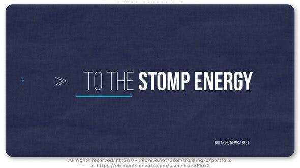 Videohive Stomp Energy 1.0 26770084