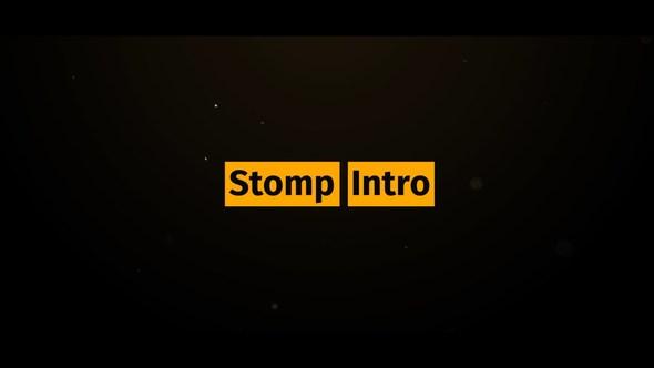 Videohive Stomp Intro 21755487